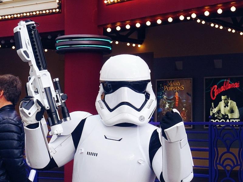 rencontre avec un stormtrooper à Disneyland Paris