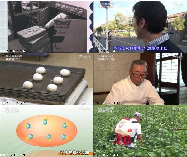 [TV-Variety] [ガイアの夜明け] 食の常識を変える!凍らせてナゼうまい – 2016.10.18