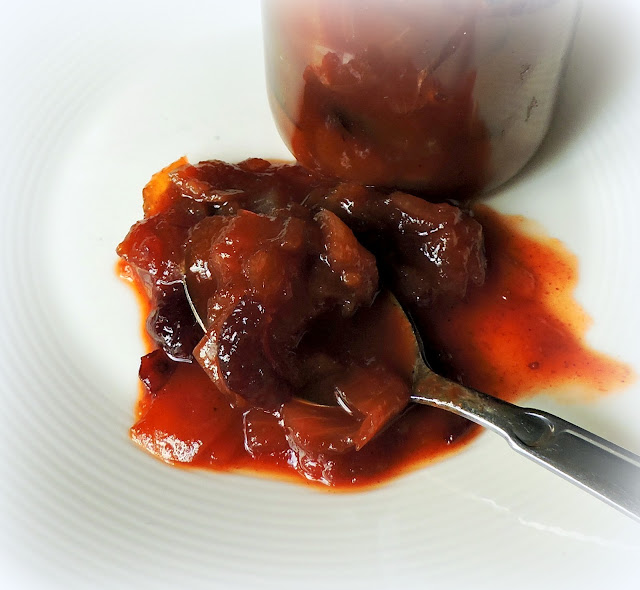 Spiced Pear Chutney