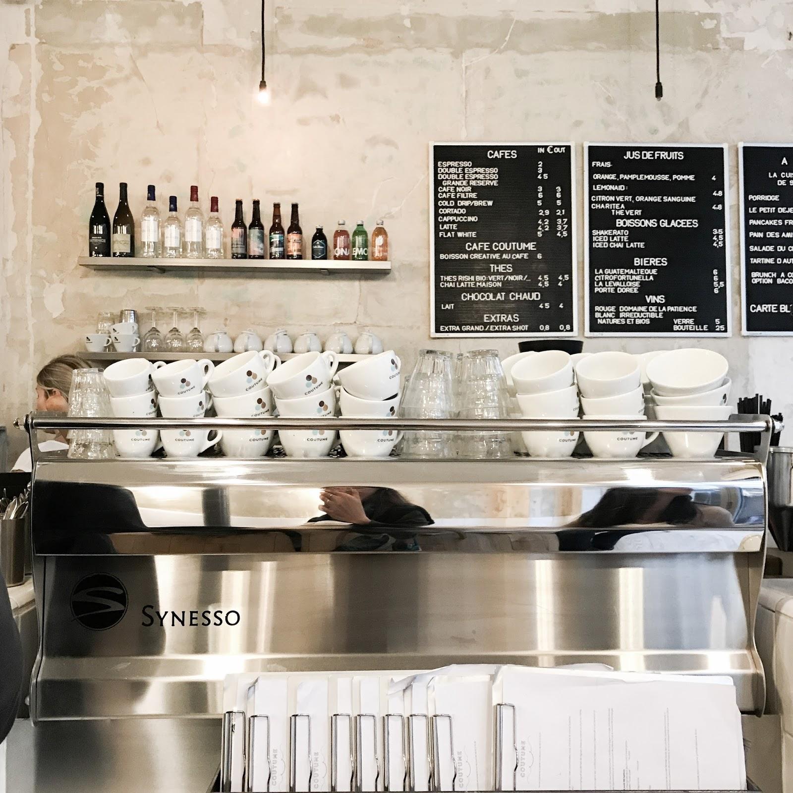 Coffee In Paris Coutume Bonjour Katrina