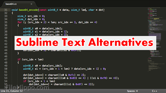 Sublime text alternatives for mac windows linux
