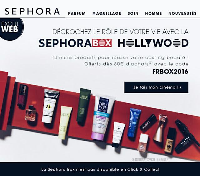 sephora-box-destination-hollywood-code-promo