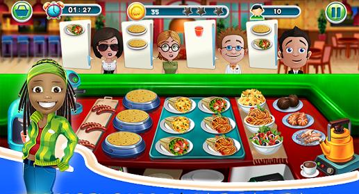 permainan memasak Cooking Story 2017