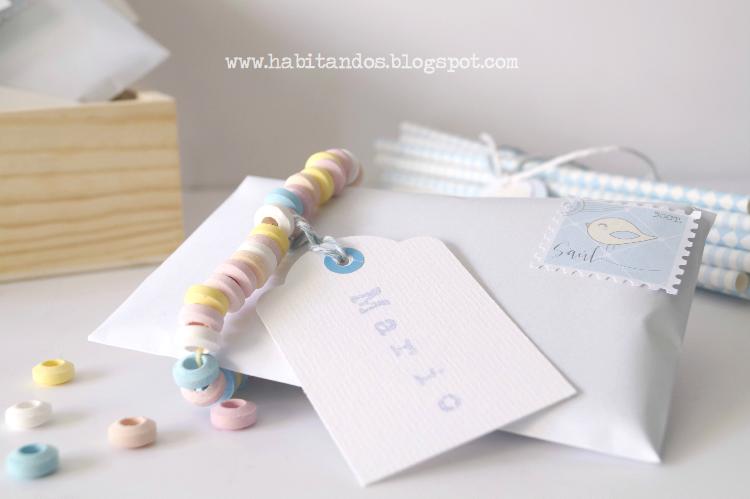 Invitaciones handmade personalizadas para fiestas de cumpleaños by Habitan2