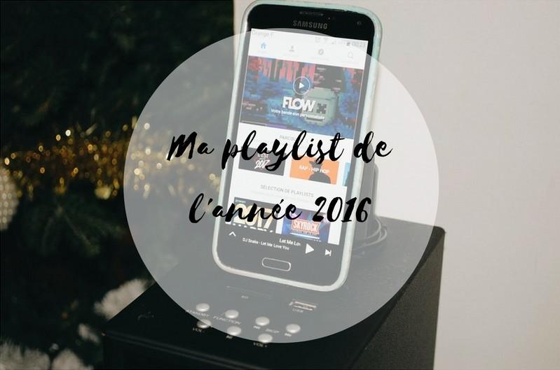 Ma playlist de 2016