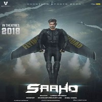 Saaho (2017) Telugu Movie Audio CD Front Covers, Posters, Pictures, Pics, Images, Photos, Wallpapers