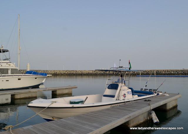 speedboat in Fujairah
