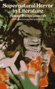 Supernatural Horror in Literature - H. P. Lovecraft