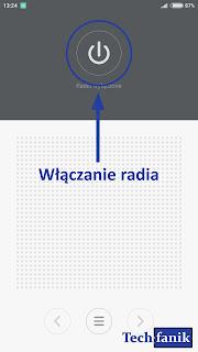xiaomi włączanie radia
