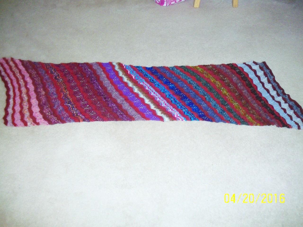 Lilie\'s Knitting Blog: Test Lamina Wrap - DONE!