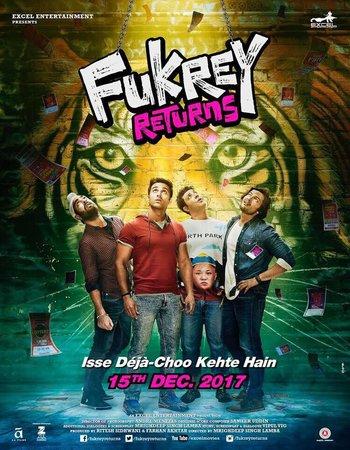 Fukrey Returns (2017) Hindi 480p HDTV