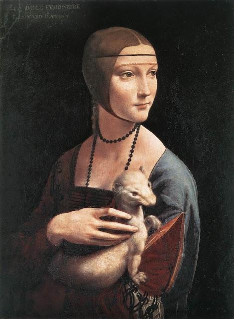 Пані з Горностаєм Леонардо да Вінч Леонардо да Вінчі