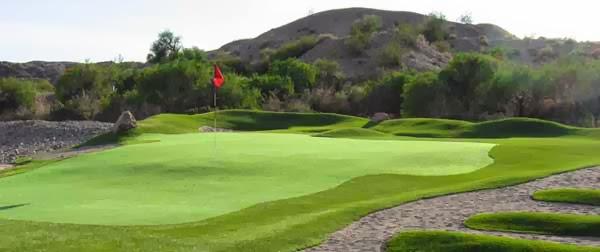 un césped artificial especial para cada área de un campo de golf