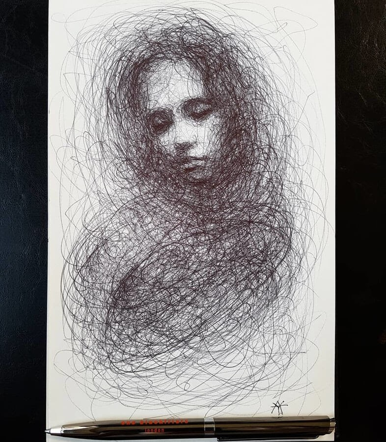 05-LY-Ahmet-Scribble-Portraits-www-designstack-co