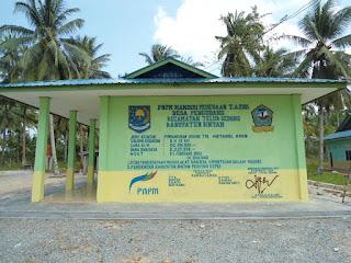 Prasasti PNPM terbesar di Bintan