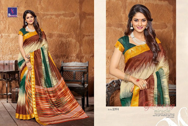 Buy Online Indian Traditional Wear Saree at Wholesale Price