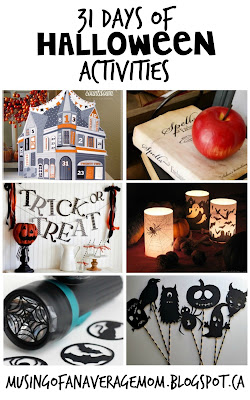 31 Halloween Activities