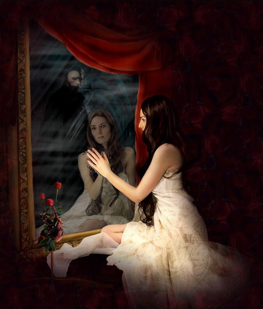 Violetas frente al espejo for El rincon del espejo