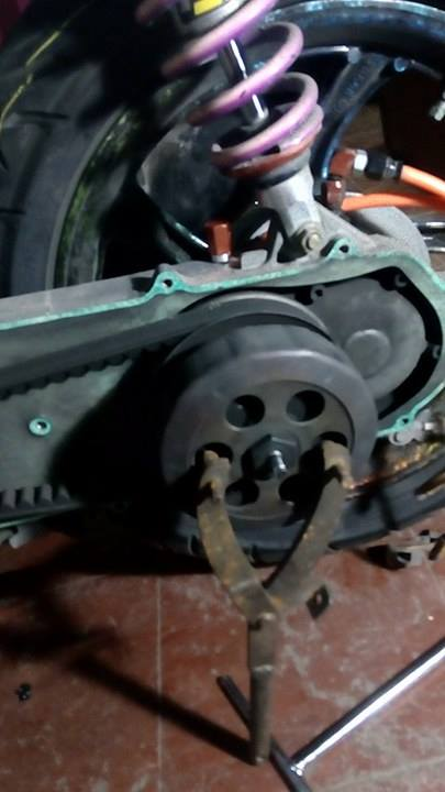 Yamaha Mio  Bearing On Torque Drive