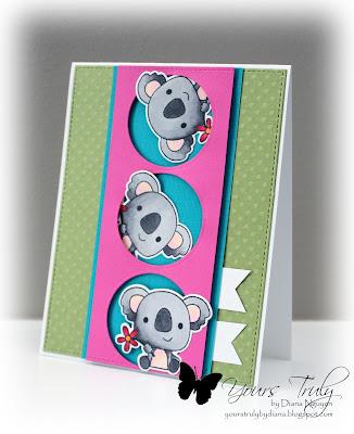 Diana Nguyen, Reverse Confetti, Bear Hugs, Koala