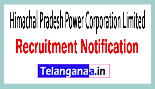 Himachal Pradesh Power Corporation Limited HPPCL Recruitment