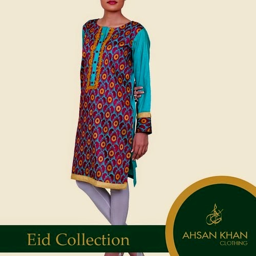 Top Class Eid Collection for Girls by Ahsan Khan