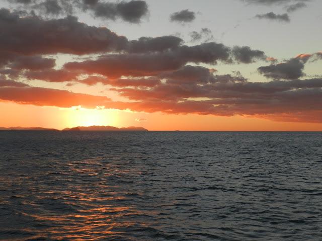 isole whitsunday tramonto australia