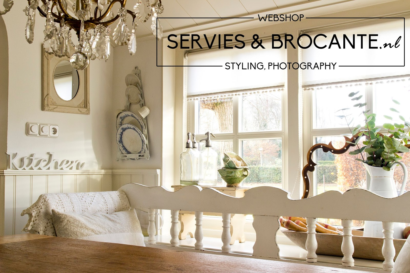 Servies en Brocante: Photoshoot bij Anja voor Brocante blog Magazine ...