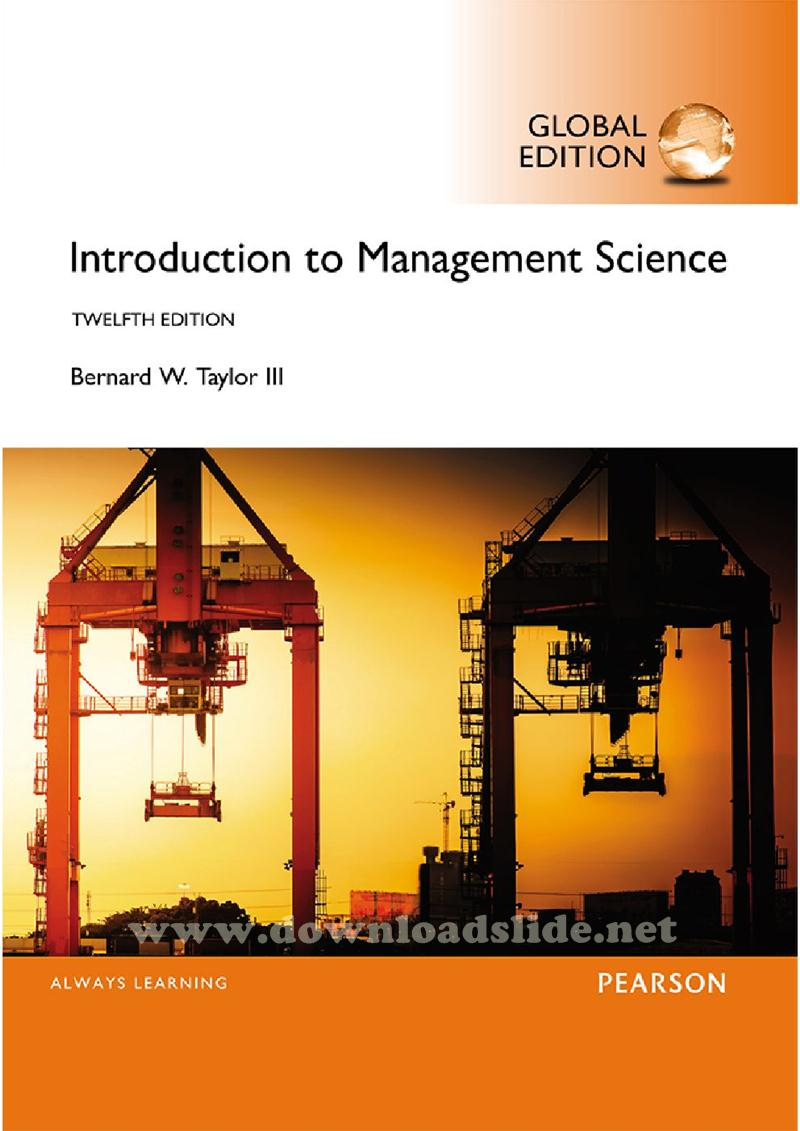 an introduction to management science solutions plus Tags: solution, manual, for, introduction, management, science, quantitative, approaches, decision, making, 14th, edition, anderson, test, banks, manuals once the order is placed, the order will be delivered to your email less than 36 hours, mostly within 24 hours if you have questions.