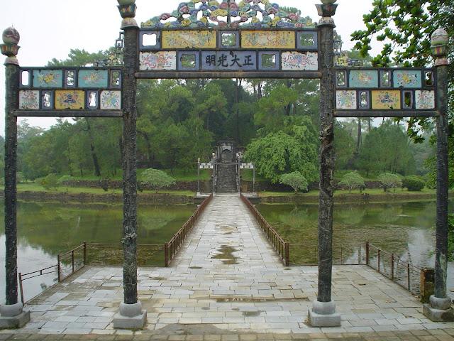 Ciudad Púrpura Prohibida. Hue, Vietnam
