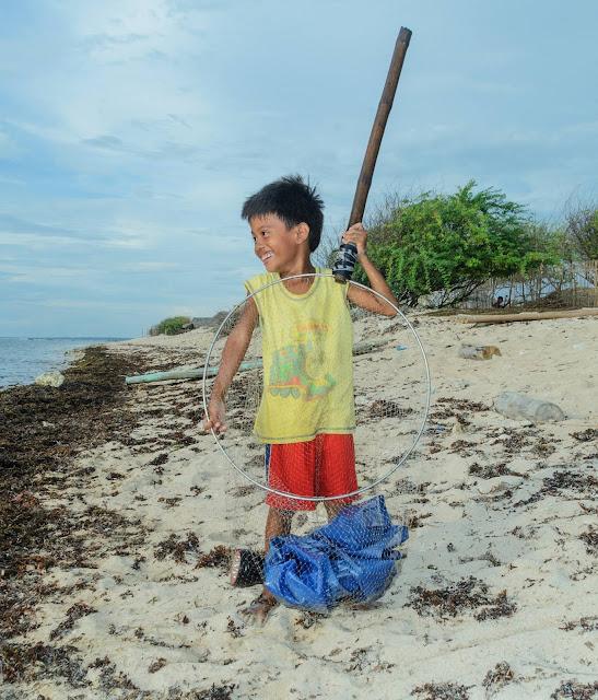 Pinget Island Puro Beach Fisherman's son
