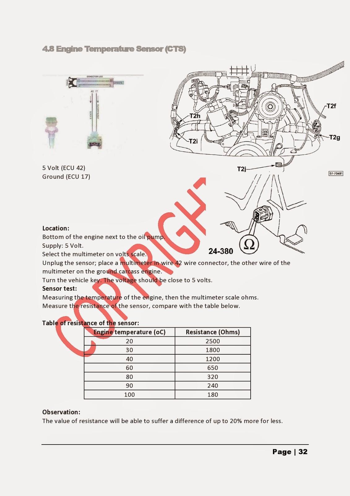 Vw Type 2c Campervan Brazilian Kombi Technical Service Manual