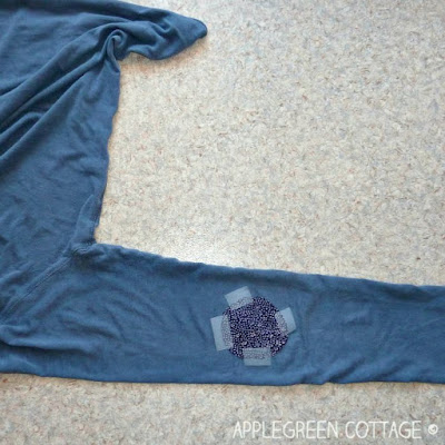 how to sew a jersey patch
