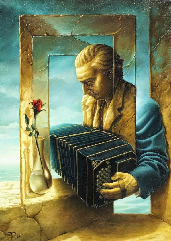 Nostalgia - Ileana Cerato e seu surrealismo nostálgico ~ Pintor argentino