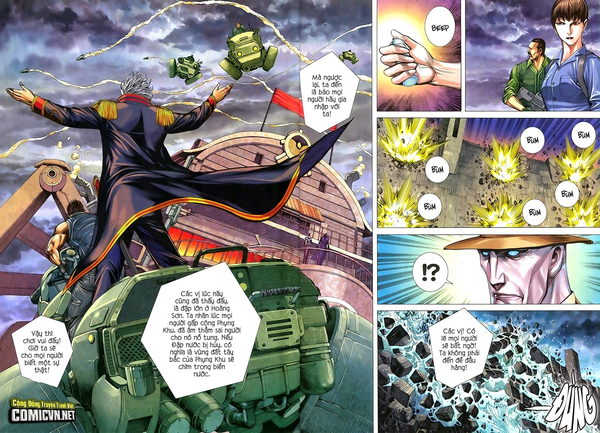 Đại Quân Phiệt chap 29 trang 26