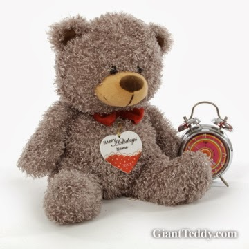 Personalized ornaments from Giant Teddy
