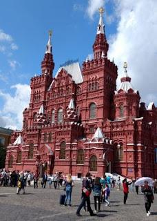 Museo Estatal de Historia de Moscú.