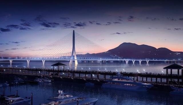 جسر دانجيانغ لزها حديد