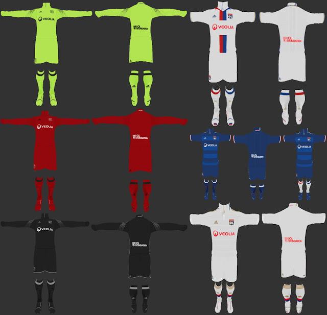 PES 2013 Olympique Lyon 2016-17 Full GDB V.2 BY ABIEL & LUAN17 & ANTONELLI