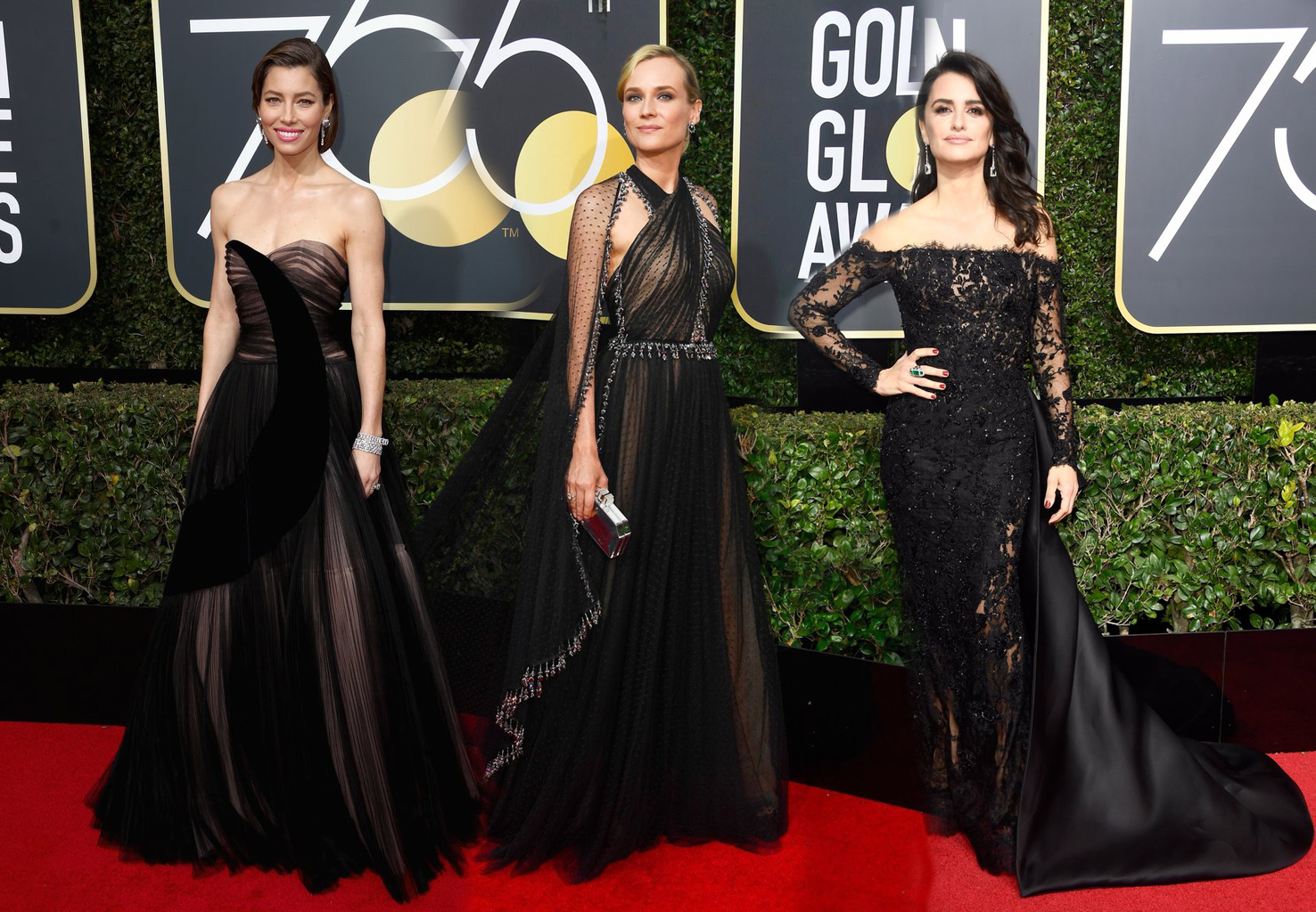 The Best All-Black Outfits From The Golden Globes The Best All-Black Outfits From The Golden Globes new pics