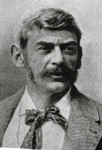 Adolf Albin en el Torneo de Ajedrez de  Hastings 1895