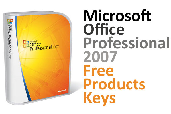 find excel product key 2007