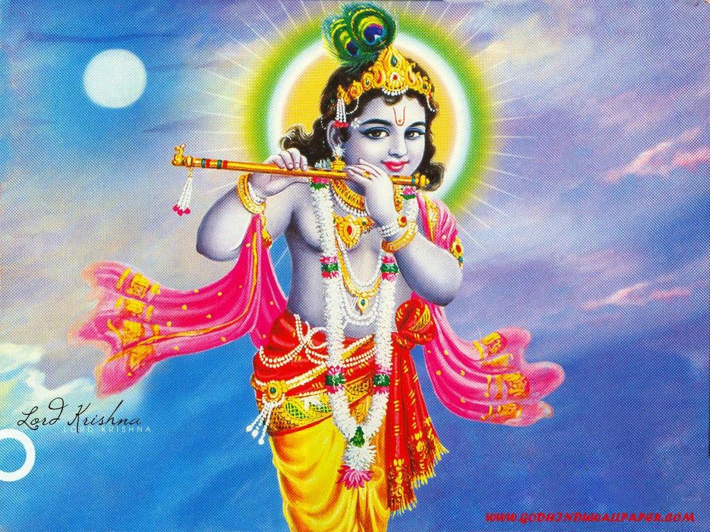 Hindu God Wallpapers: Lord Krishna Wallpapers