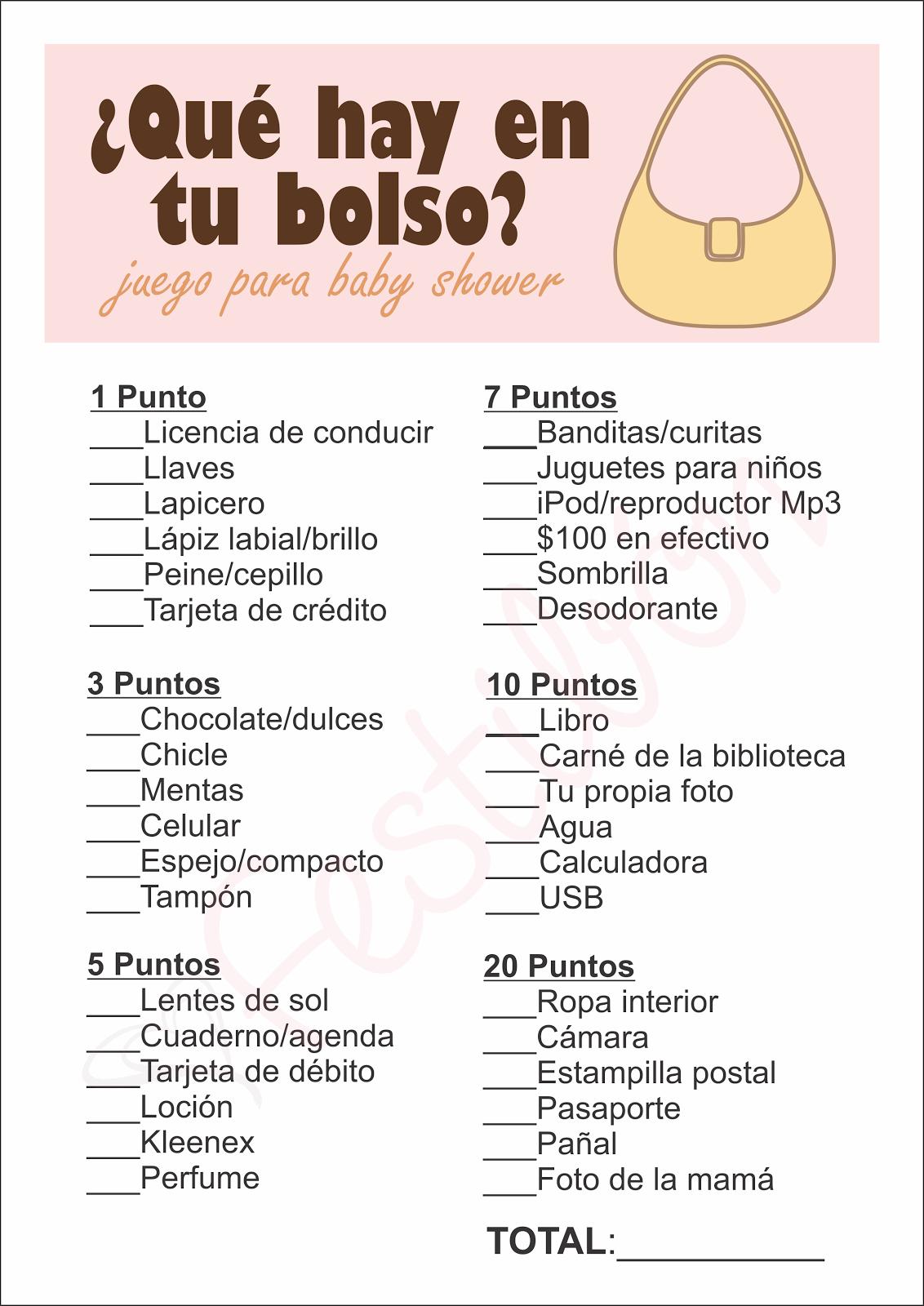 51 Juegos Para Baby Shower Mixto Gratis Para Imprimir Mixto