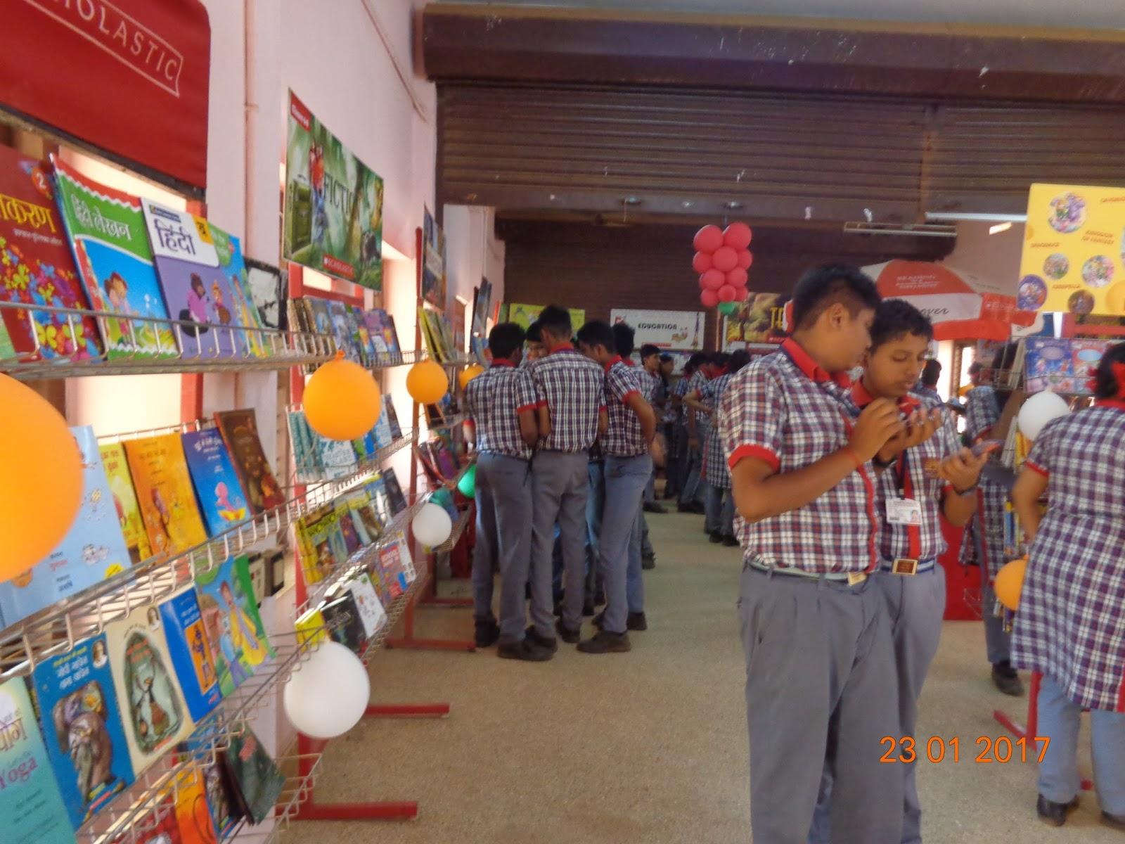 Kendriya Vidyalaya Ottapalam Library Book Exhibition In