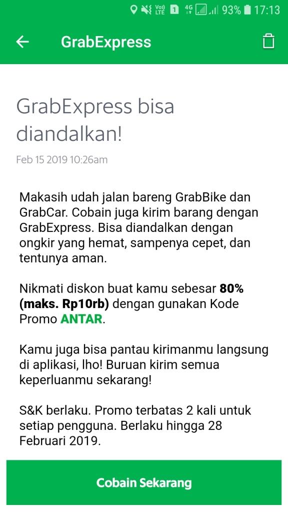 Kode Promo Grab Terbaru November 2020 Untuk Pengguna Lama Dan Baru Barcodeharga Harga Promo Alfamart Indomaret Giant Hypermart Superindo Lottemart Carrefour
