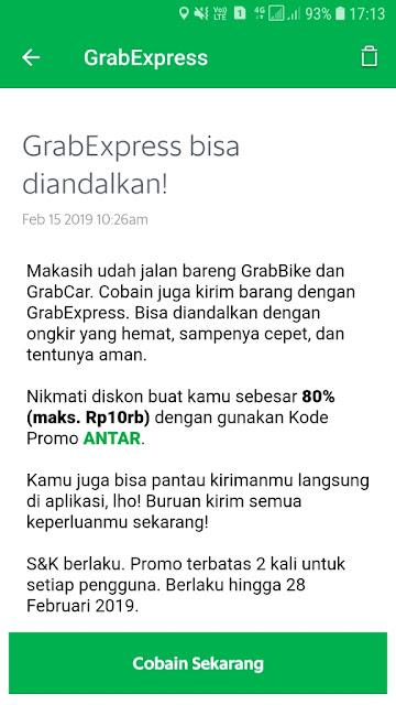 Promo Grab Motor Manado
