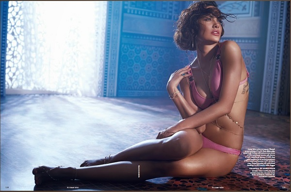 Esha Gupta hot bikini still