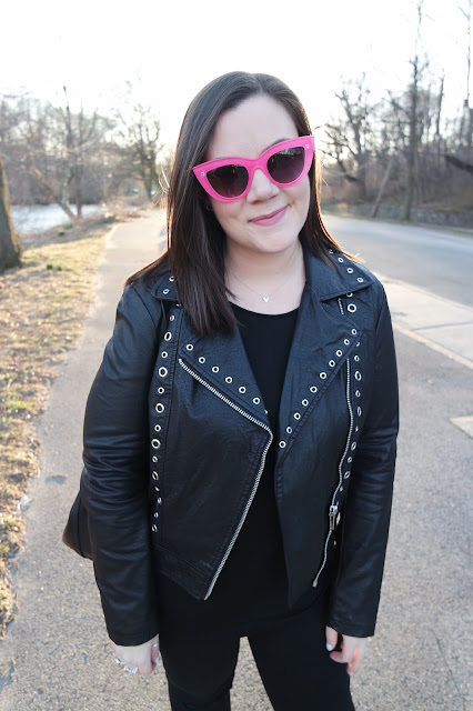 Sequins and Skulls: A Pop Of Pink, Again