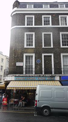 Charles Dickens Coffee House London UK